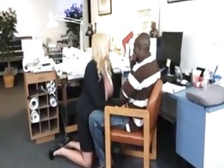 Bbw Cougar Chief Entices Her Black Employee