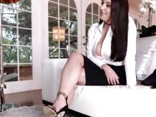 Angela Milky Sexy Feet Worshiped