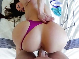 Bootyful Cougar Kendra Eagerness Trie Sonny Her Underpants And Gets Fucked In Hot Point Of View Clip