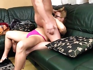 Steffi Cougar Is Sucking And Fucking With Her Junior Paramour