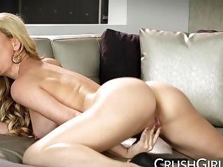 Sexy Cherie Deville Caught Her Stepson Masturbating