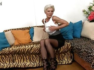 Crazy Skinny Gilf Fucks Youthfull Boy