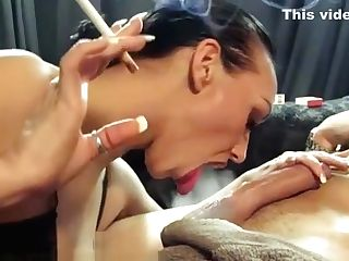 Smoking Kink Queen Keira Pharrel + Another Smokey Bj .. !!!
