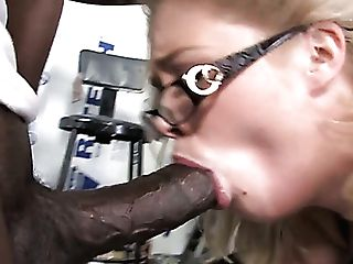 Chubby Chick With Big Knockers Katie Kox Fucks A Crowd Of Black Dudes