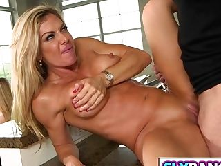 Sexy Mom Seducing Daughters-in-law Friend