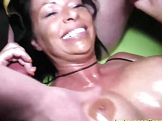 Fuck Soiree With Huge-chested Cougar Dacada