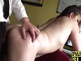 Culo Ravaged Mummy Bi-atch Gets Her Face Smacked And Fucked